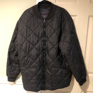 Jordan Craig Black Quilted Utility Jacket